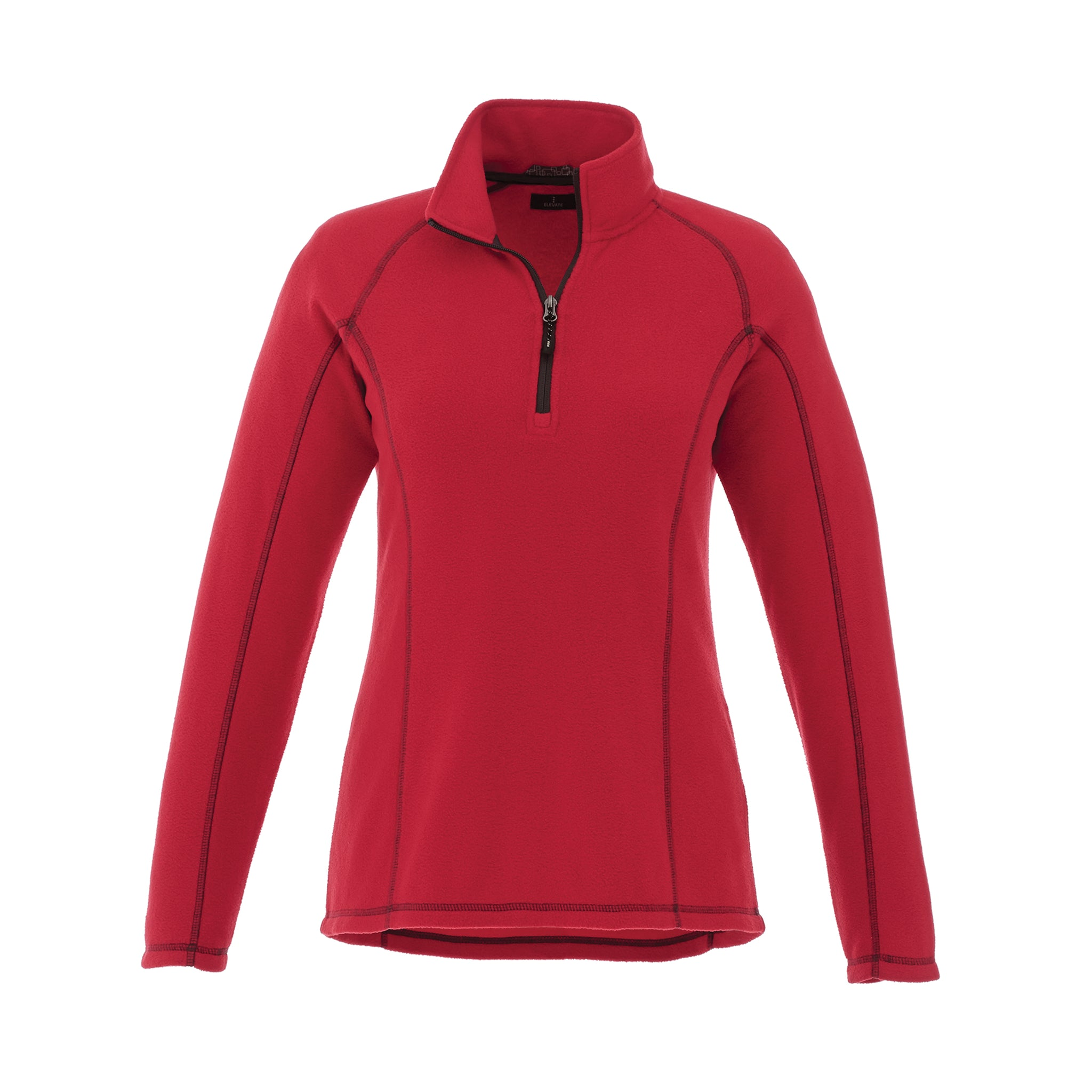 ELEVATE LADIES BOWLEN POLY FLEECE QUARTER ZIP