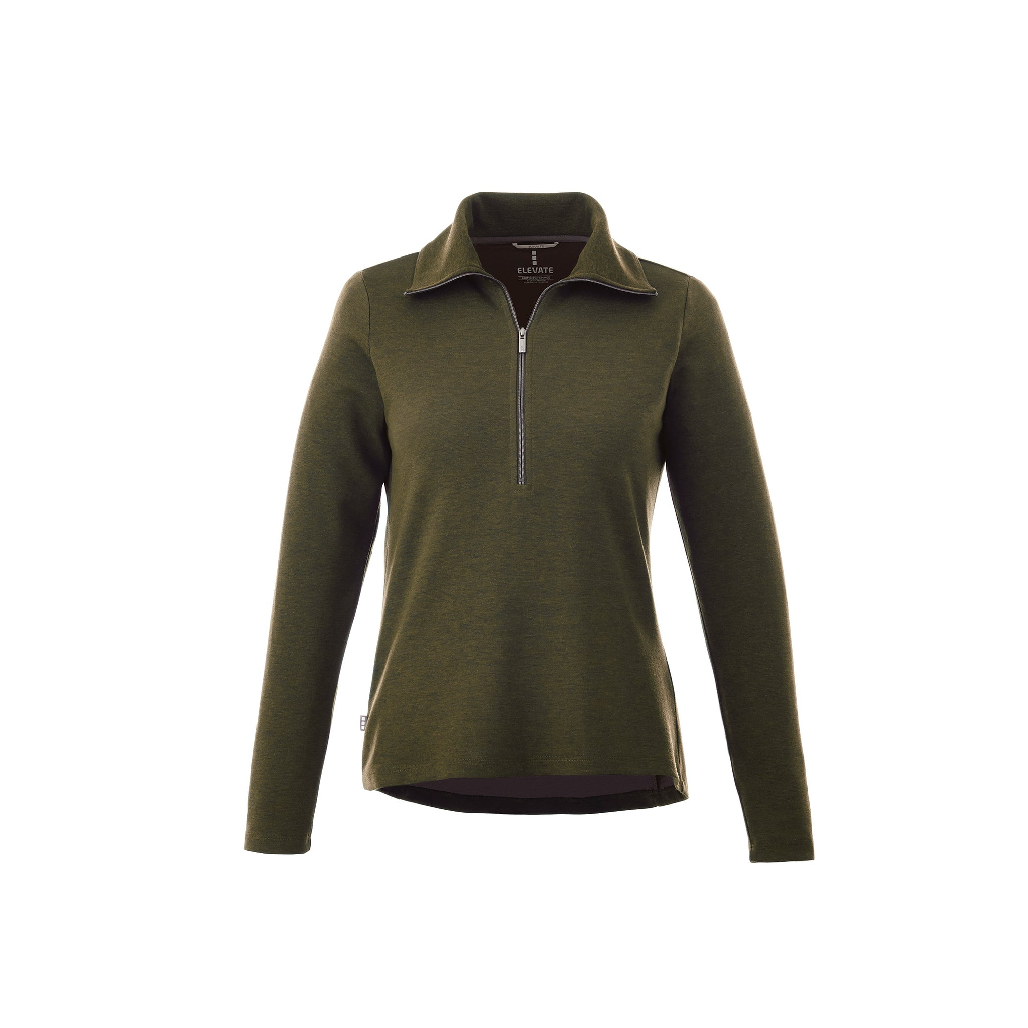ELEVATE LADIES STRATTON KNIT QUARTER ZIP