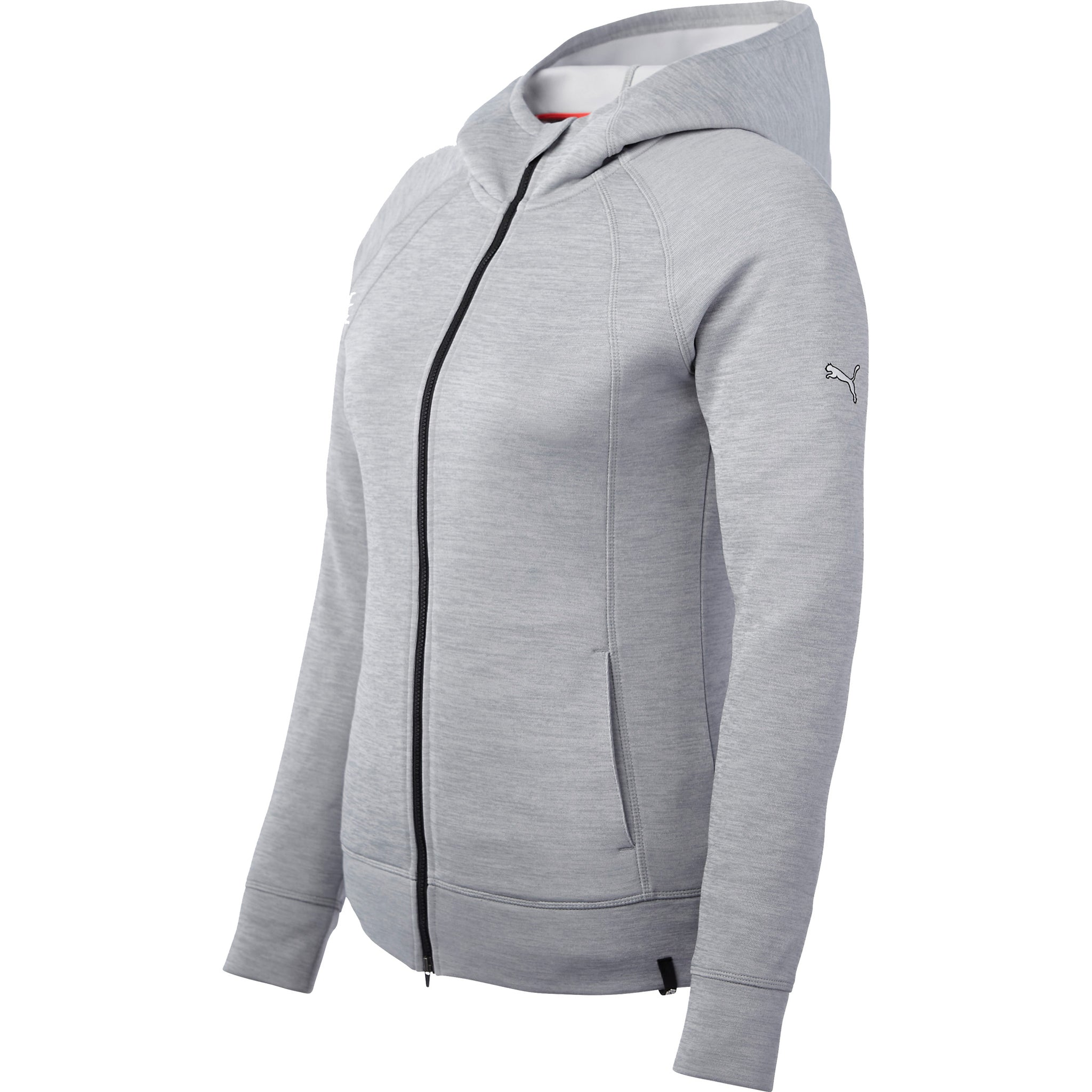 PUMA LADIES GOLF PWR FULL ZIP HOODIE