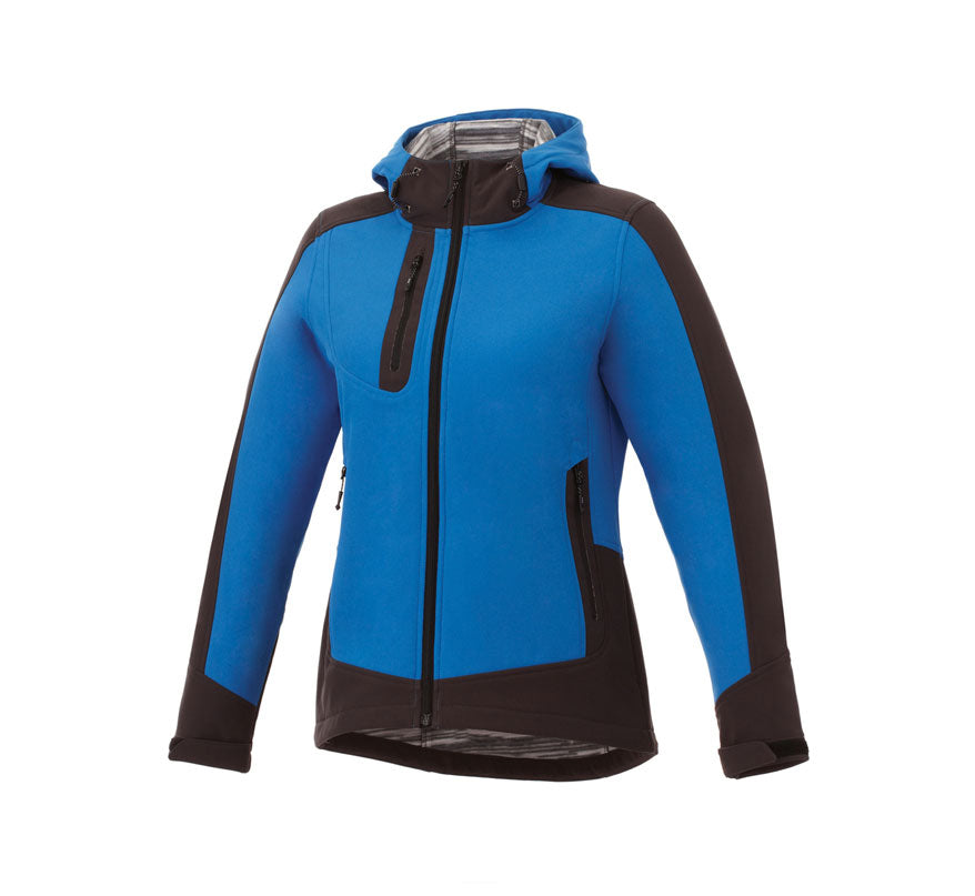 ELEVATE KANGARI LADIES HOODED SOFTSHELL JACKET