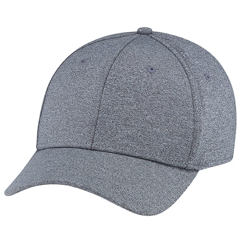 AJM POLYESTER HEATHER & SPANDEX HAT
