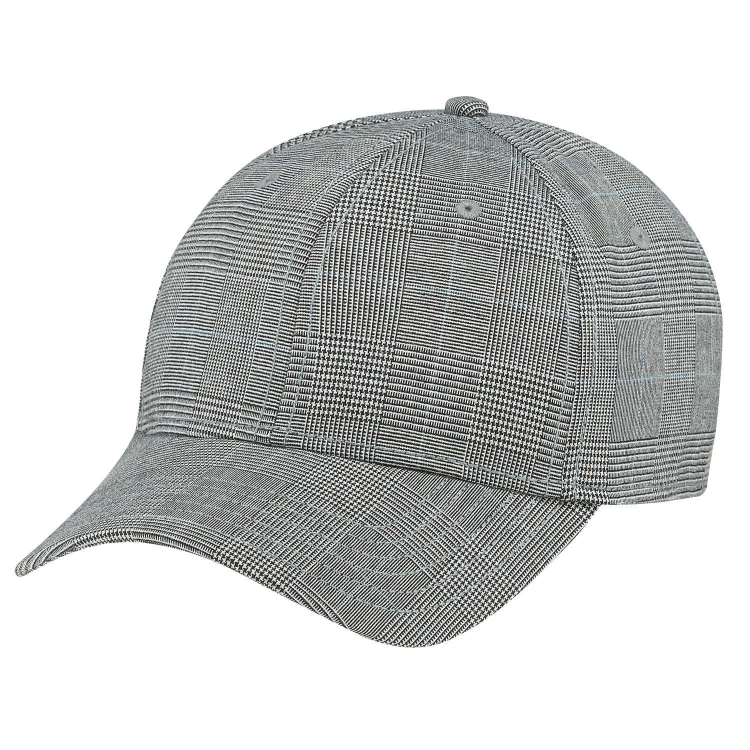 CUSTOM POLYESTER PLAID & SPANDEX HAT