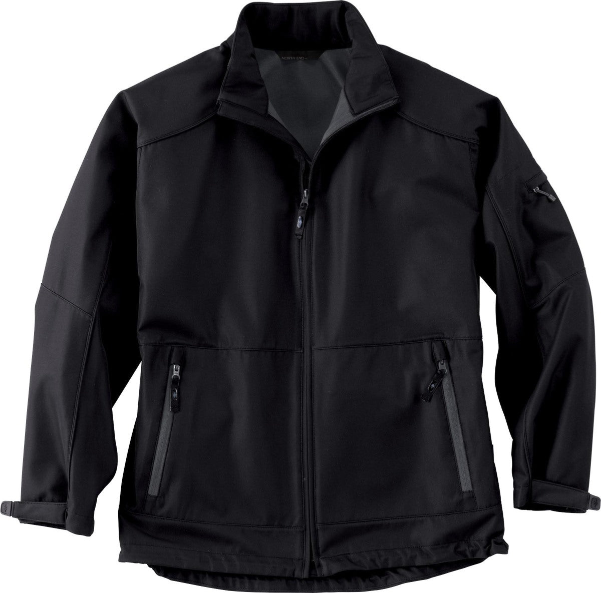 NORTH END MEN'S PERFORMANCE MID-LENGTH SOFT SHELL JACKET