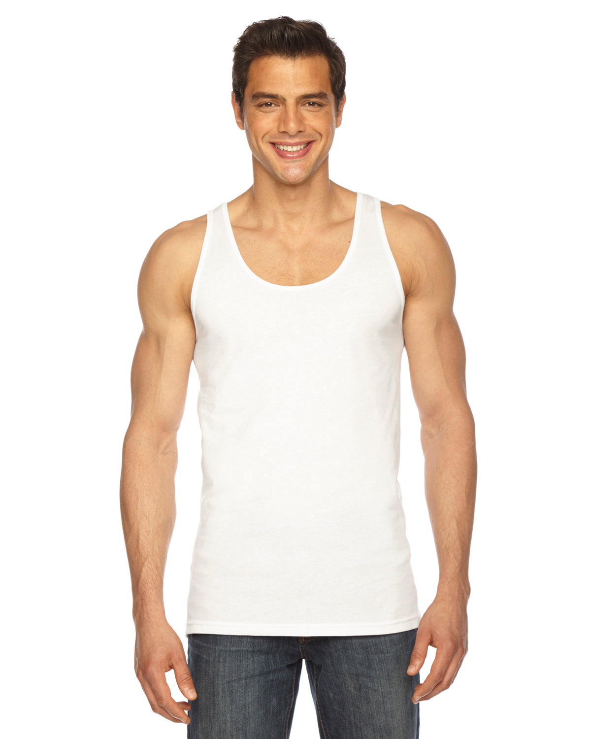 AMERICAN APPAREL UNISEX POLY COTTON TANK