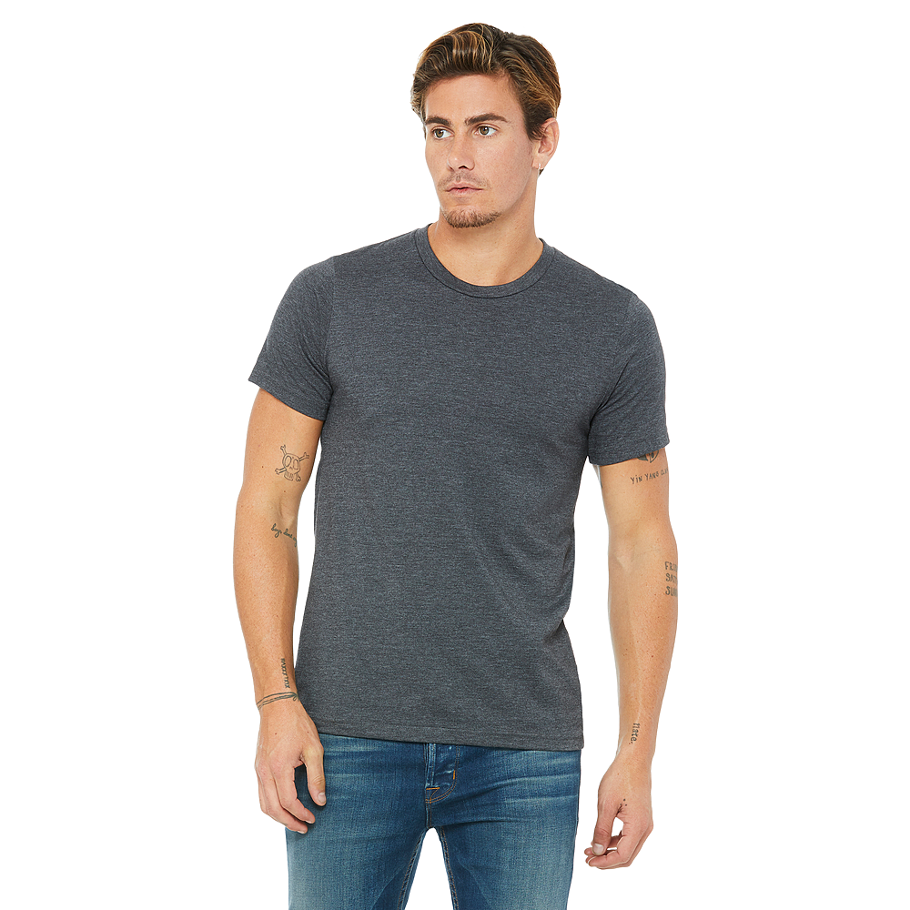 BELLA + CANVAS® ADULT JERSEY HEATHER T-SHIRT