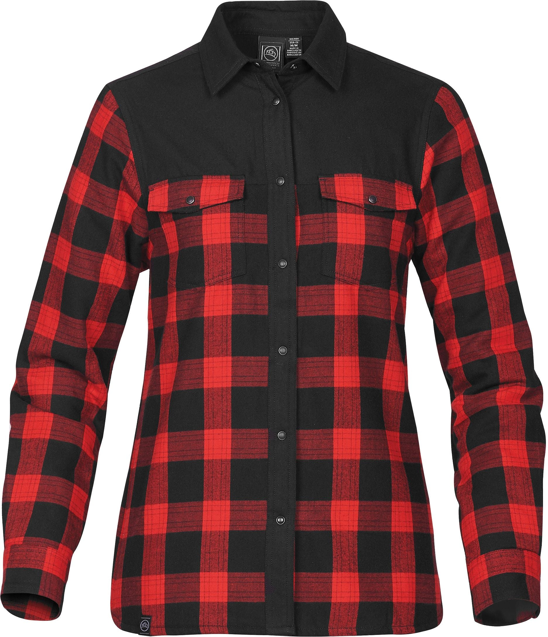 STORMTECH LADIES LOGAN THERMAL L/S PLAID SHIRT
