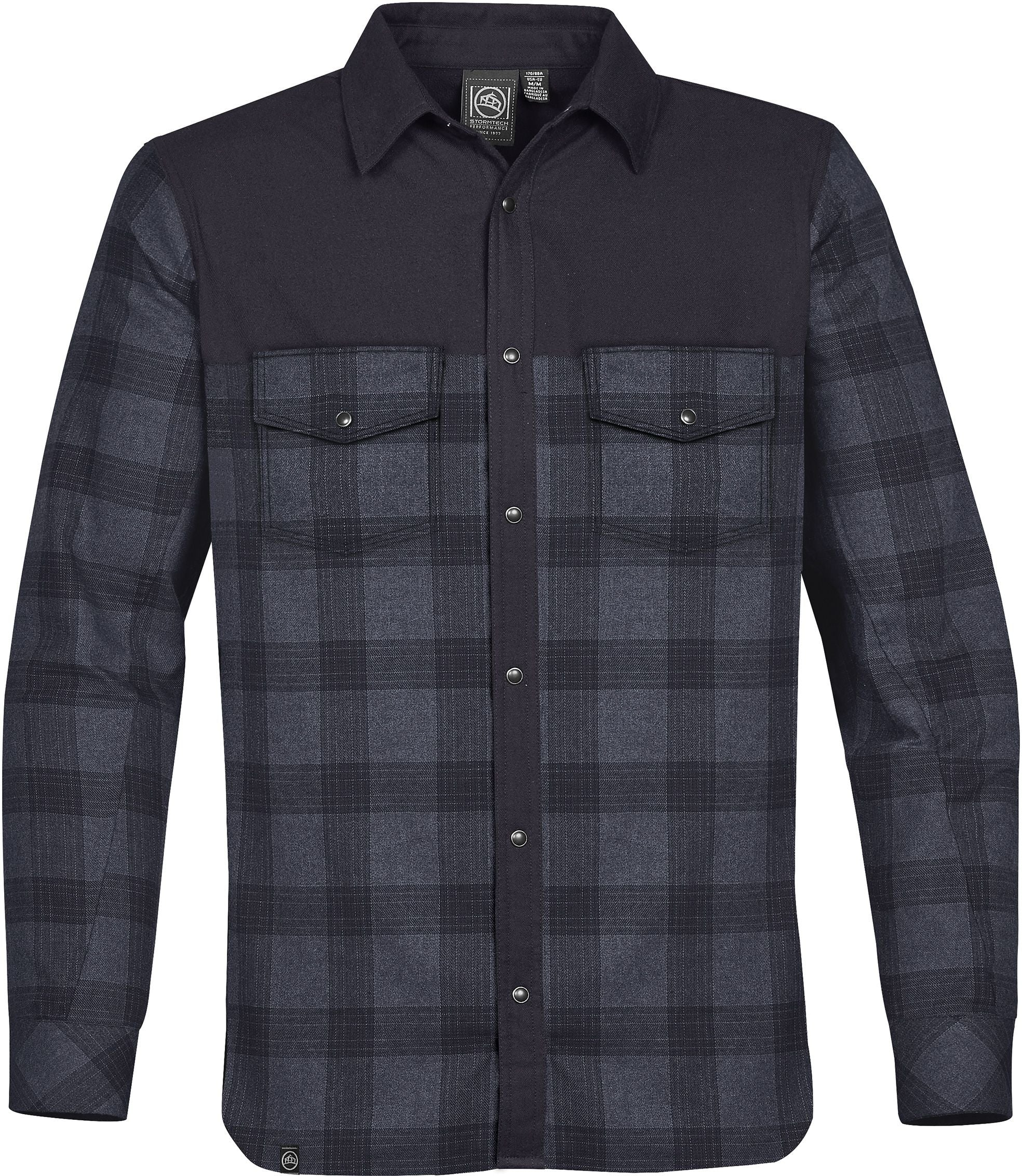 STORMTECH MEN'S LOGAN THERMAL L/S PLAID SHIRT