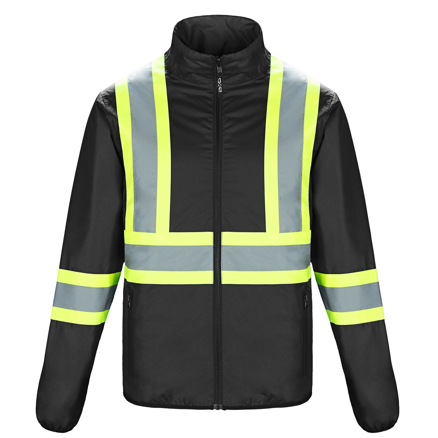 CANADA SPORTSWEAR MEN'S SAFEGUARD HI-VIS REVERSIBLE JACKET