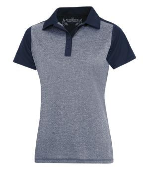 ATC™ LADIES PRO TEAM HEATHER PROFORMANCE COLOUR BLOCK POLO