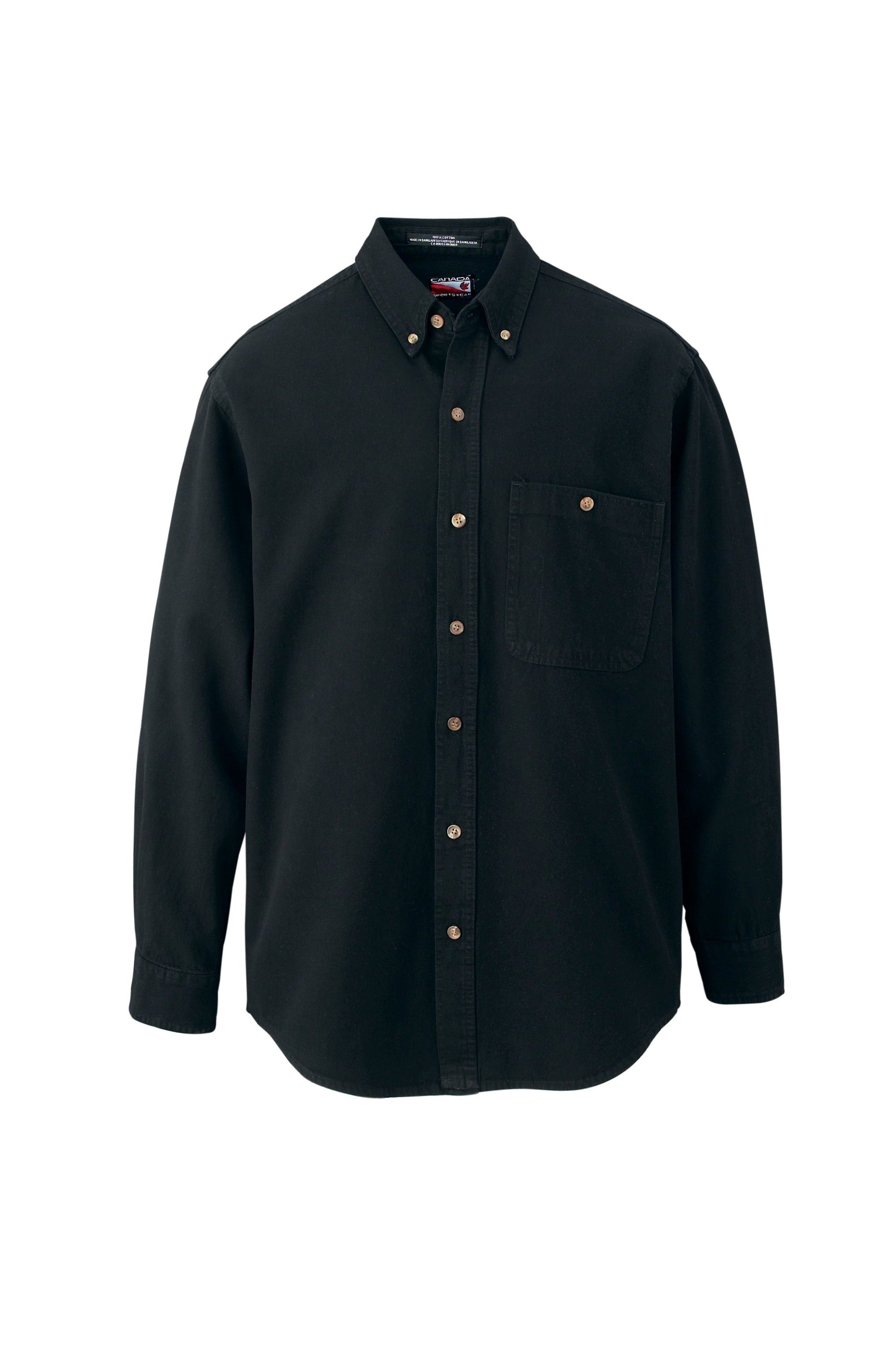 CANADA SPORTSWEAR MEN'S LOGGER COTTON DENIM SHIRT