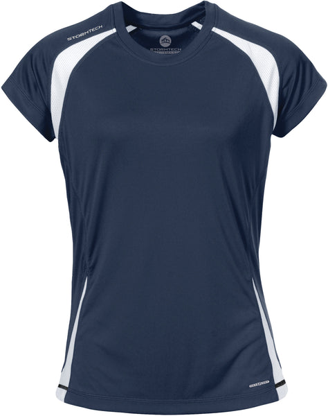 LADIES STORMTECH® H2X-DRY®CLUB JERSEY TEE