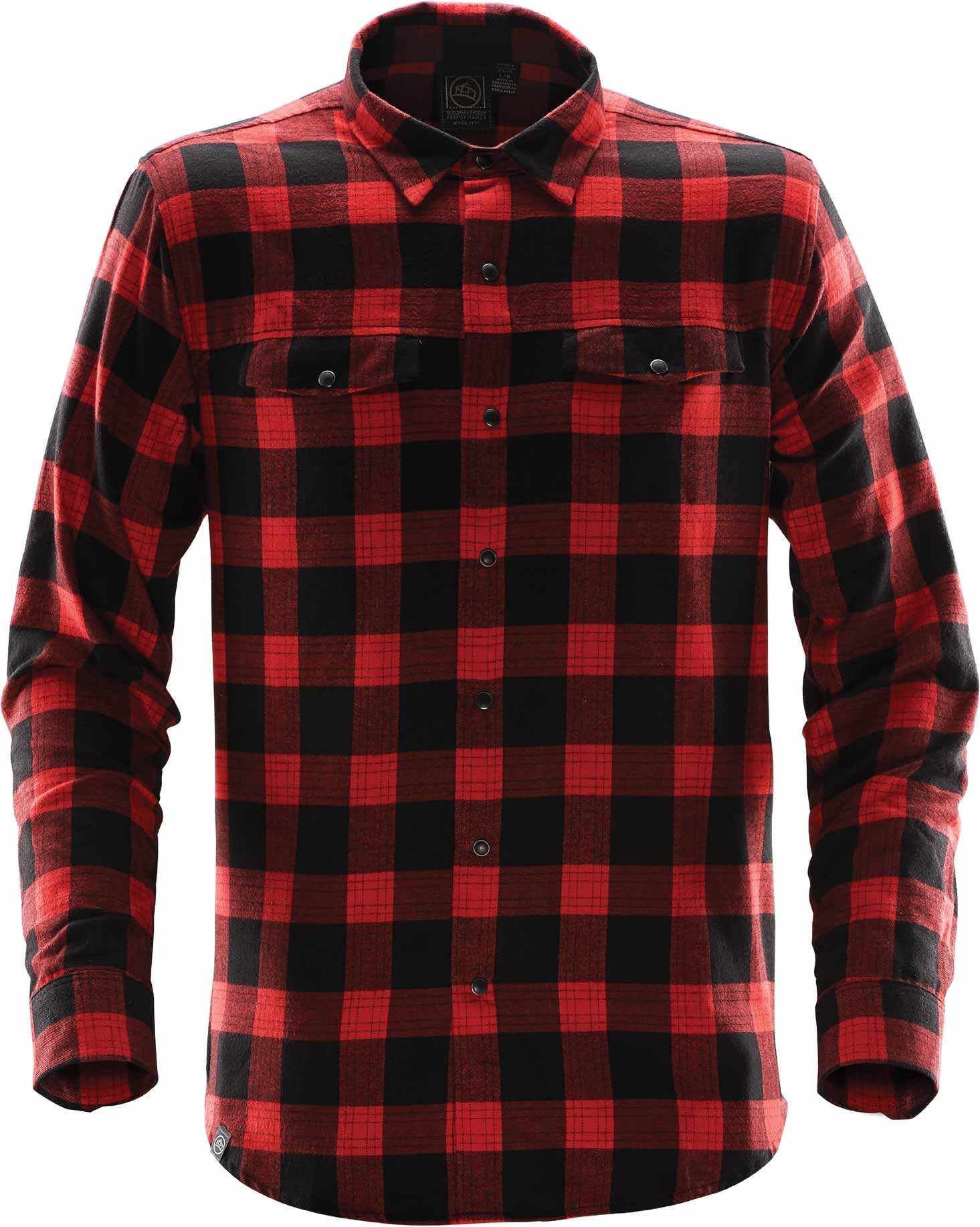 STORMTECH MEN'S LOGAN SNAP FRONT PLAID SHIRT