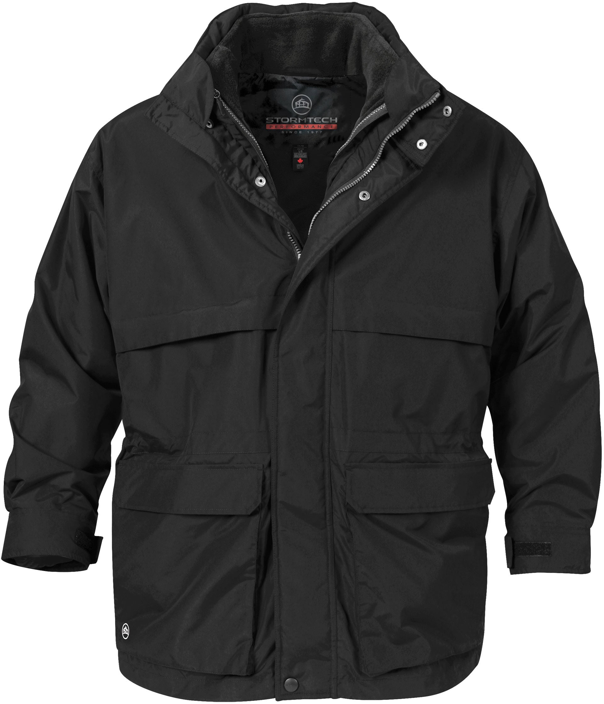 STORMTECH MEN'S EXPLORER 3-IN-1 SYSTEM PARKA
