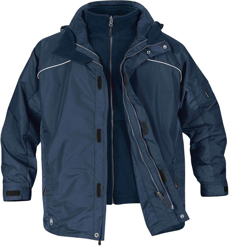 STORMTECH MEN'S VORTEX 3-IN-1 SYSTEM JACKET