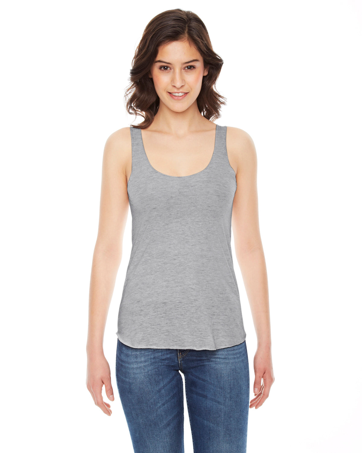 AMERICAN APPAREL LADIES TRI-BLEND RACER BACK TANK