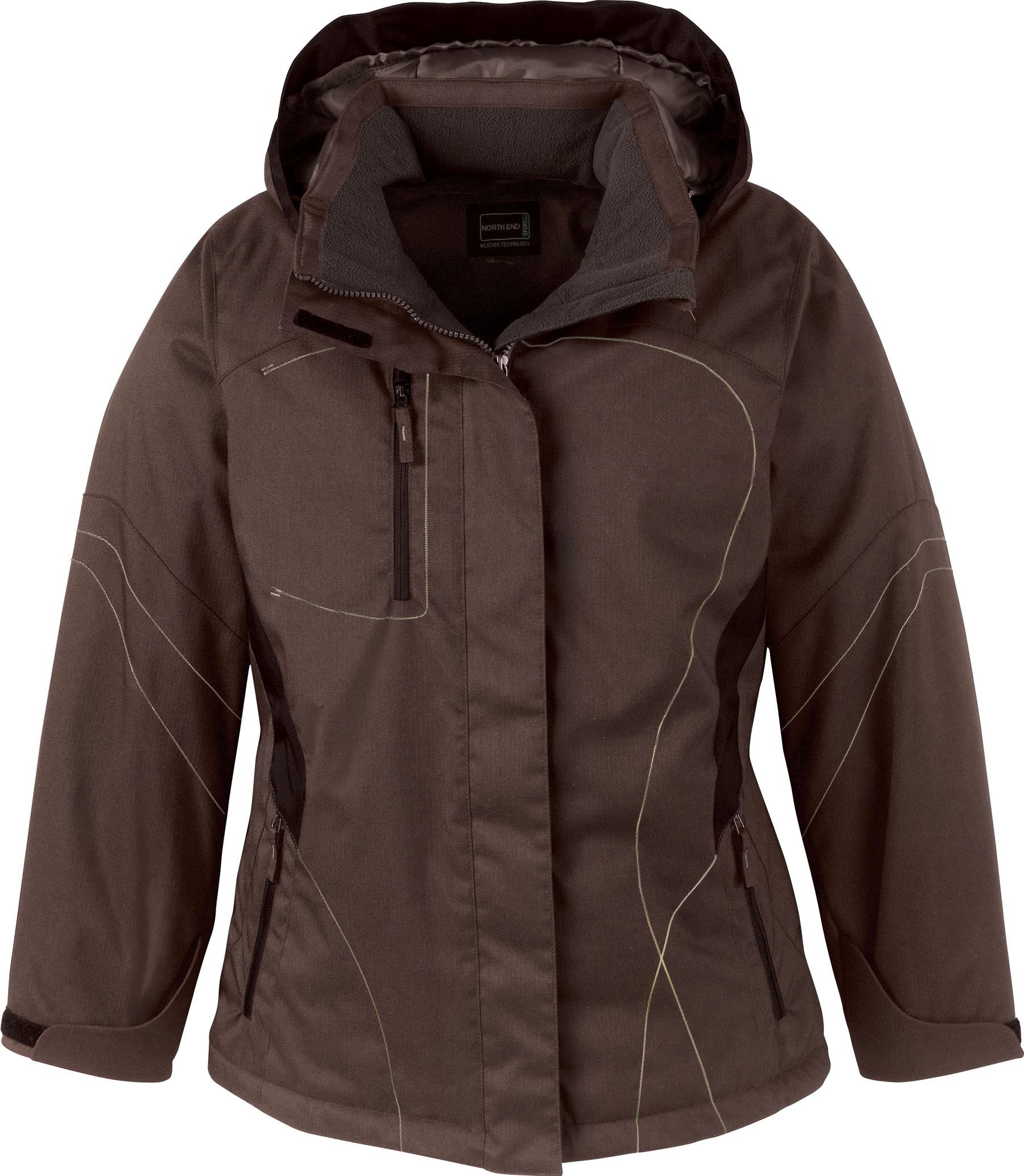 NORTH END LADIES TRAVERSE TWO TONED INSULATED JACKET