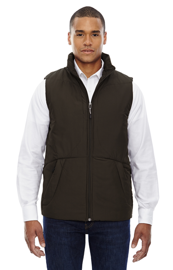 NORTH END MEN'S RIPSTOP INSULATED VEST