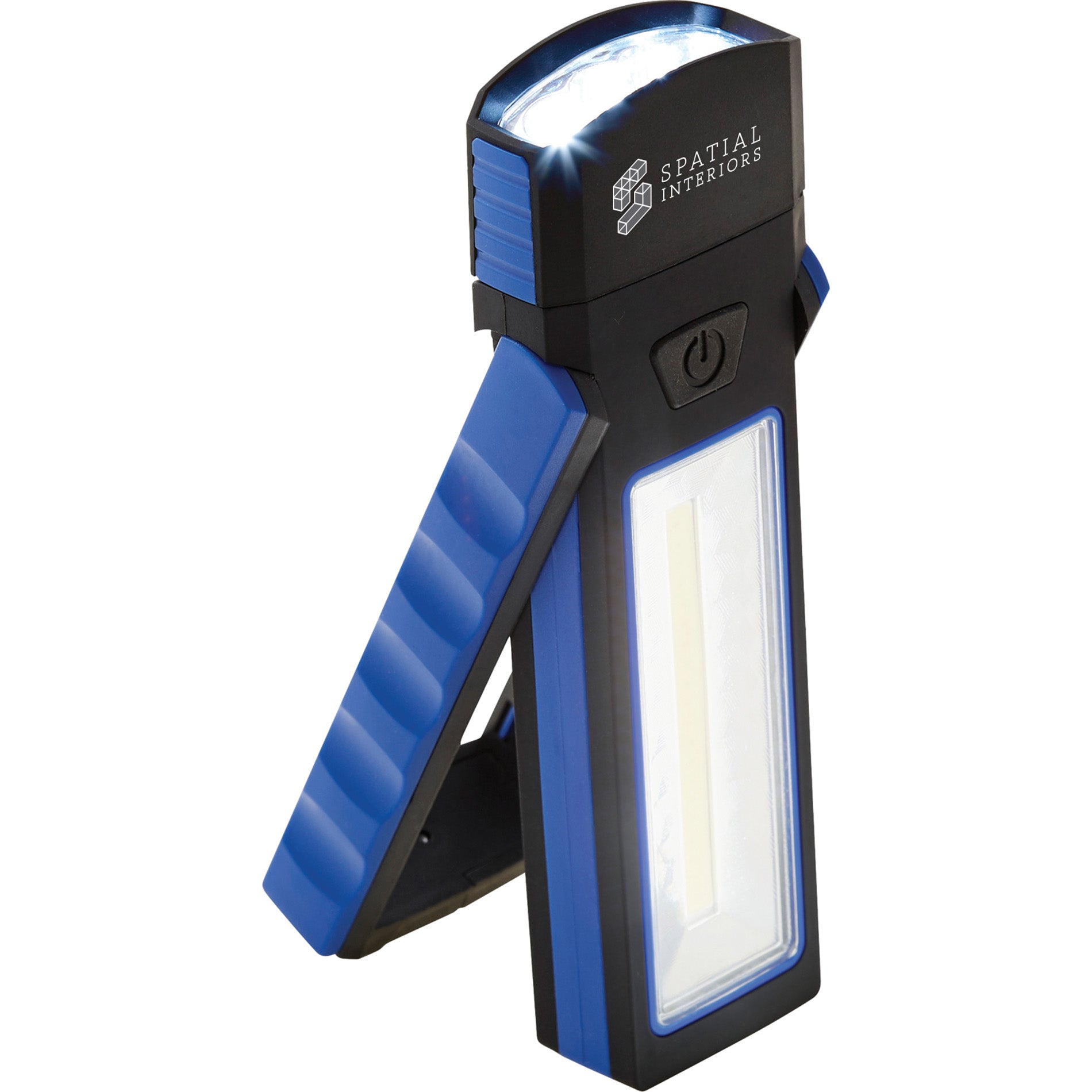 LEEDS COB MAGNETIC WORKLIGHT WITH TORCH AND STAND