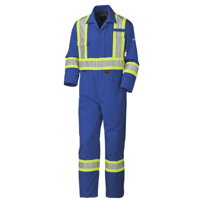 PIONEER FR/ARC RATED SAFETY COVERALLS - 100% COTTON