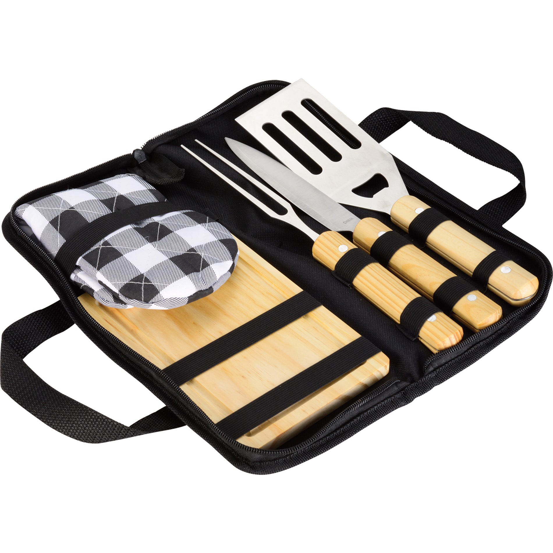LEEDS 5 PIECE BBQ SET