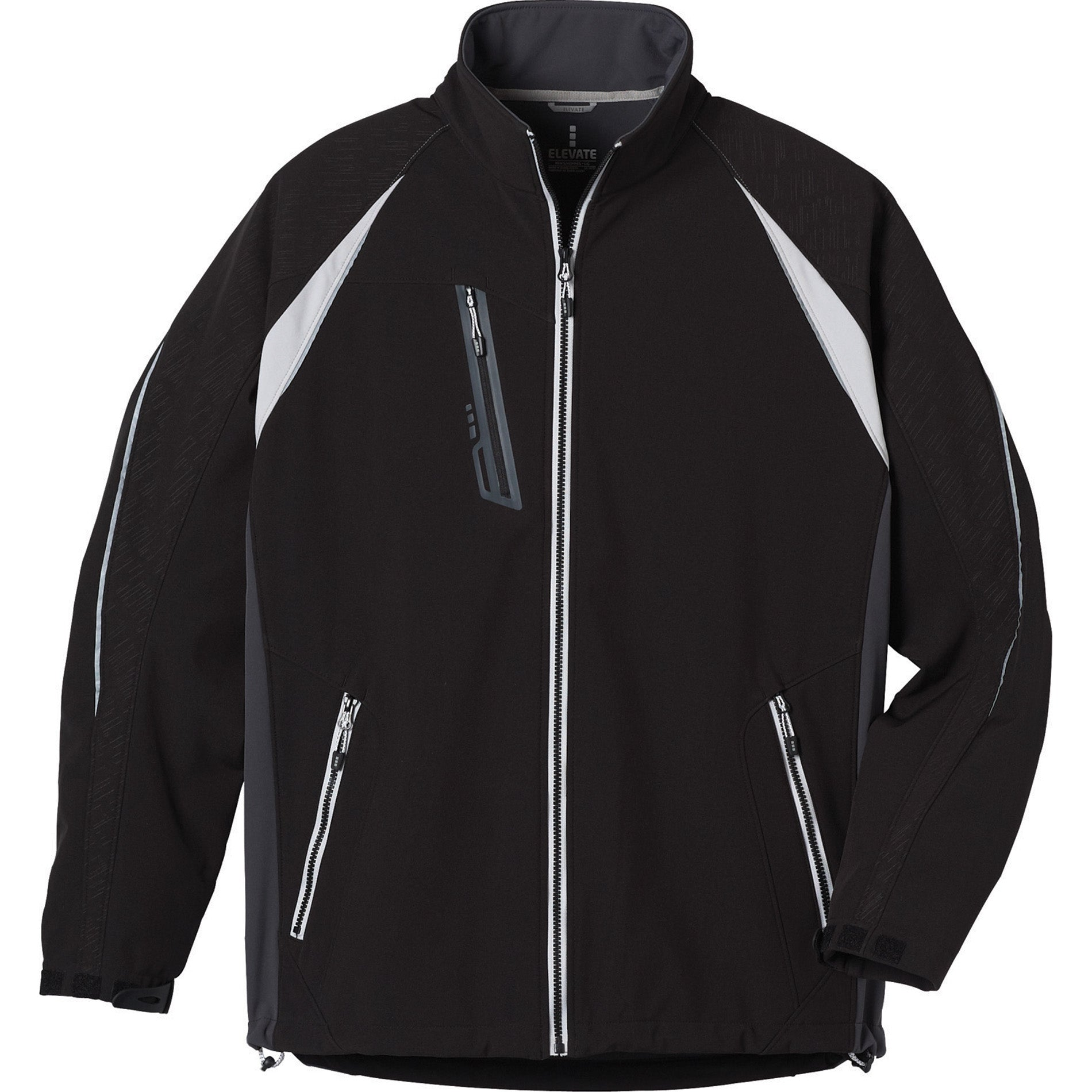 STOCK ELEVATE MEN'S KATAVI SOFT SHELL JACKET
