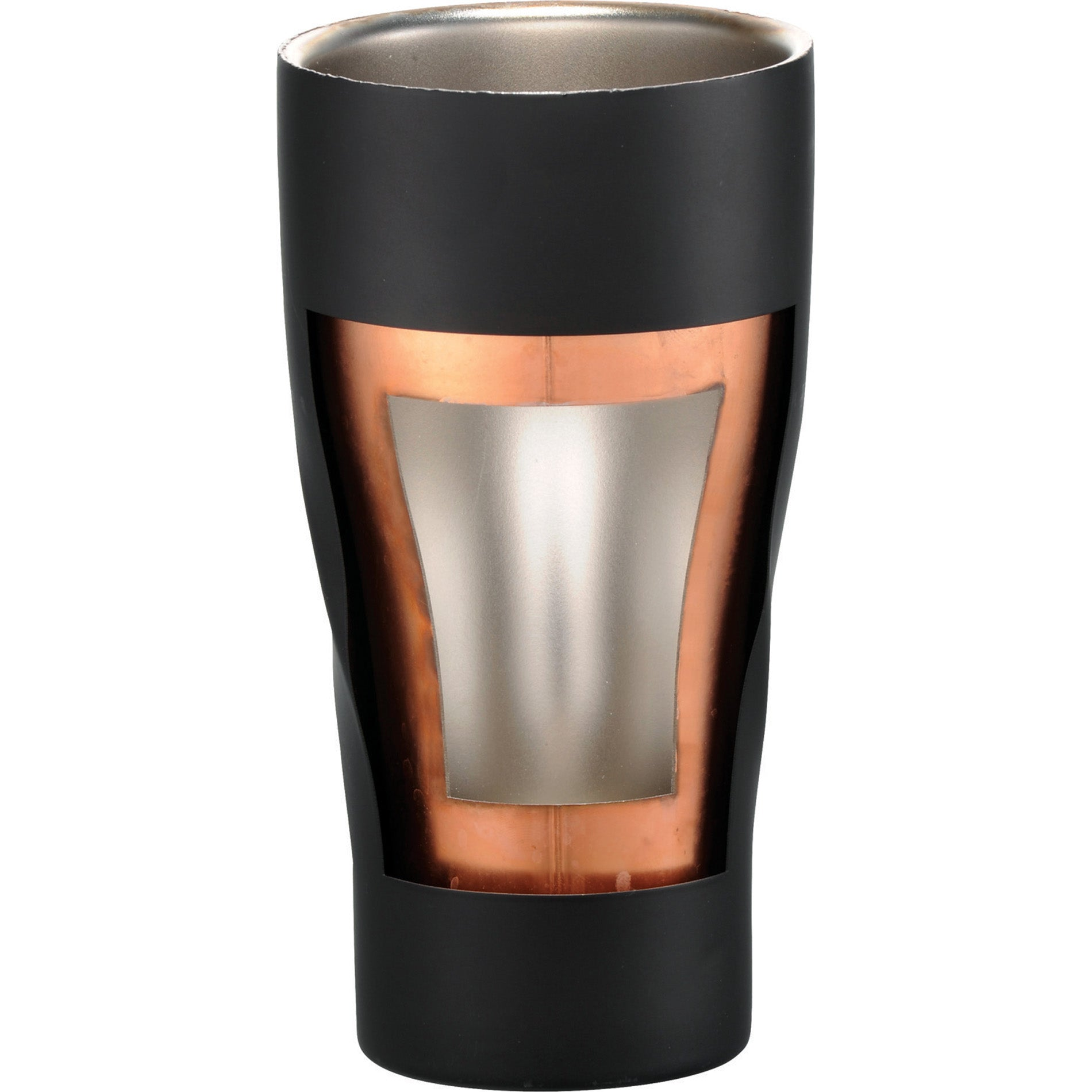 LEEDS HUGO COPPER VACUUM INSULATED TUMBLER 20 OZ