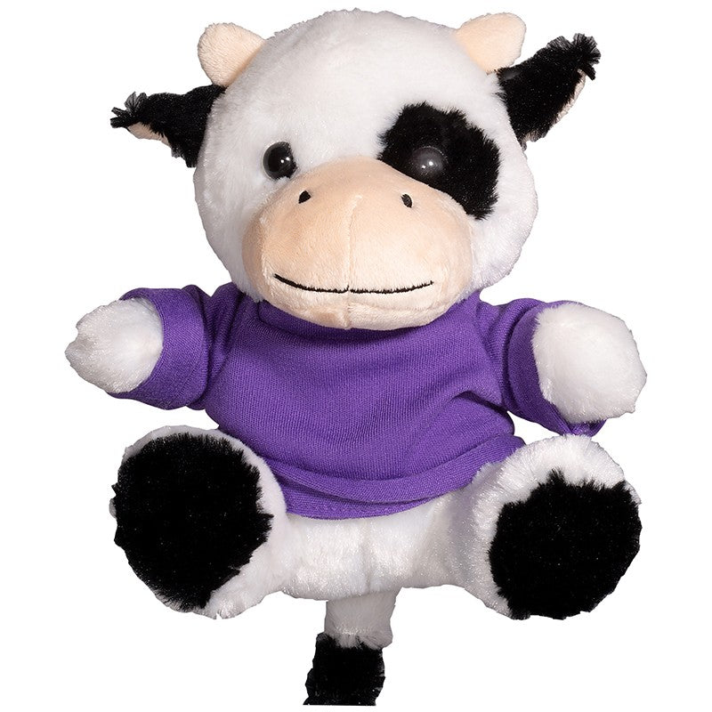 "PRIMELINE 7"" PLUSH COW WITH SHIRT"