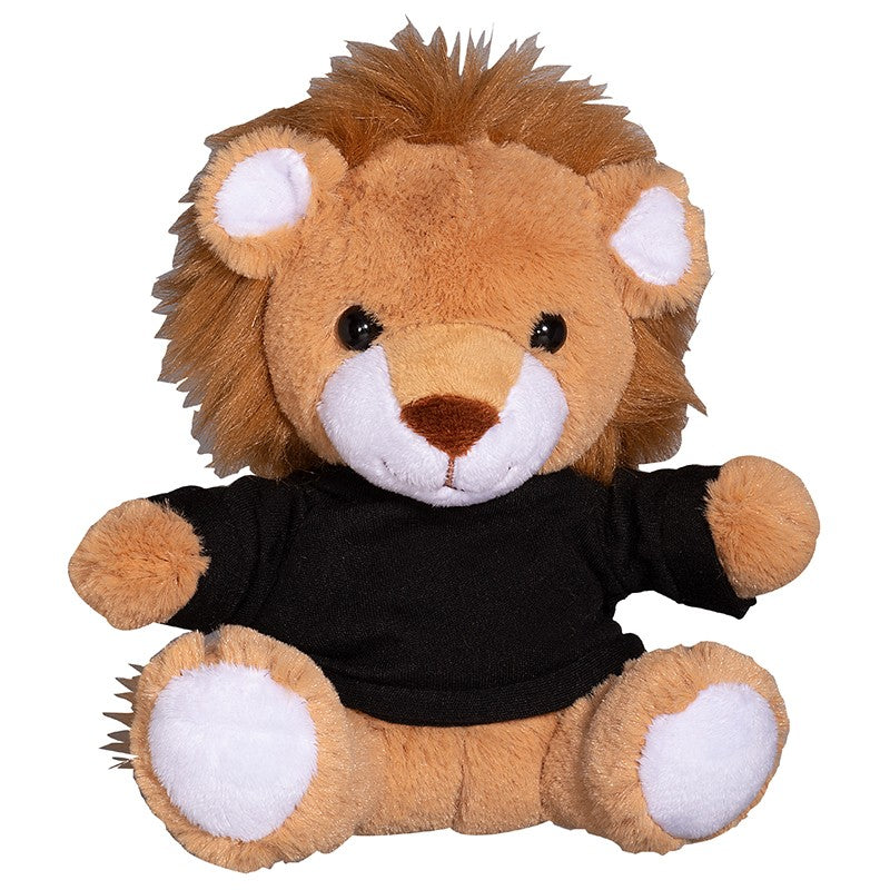 "PRIMELINE 7"" PLUSH LION WITH SHIRT"