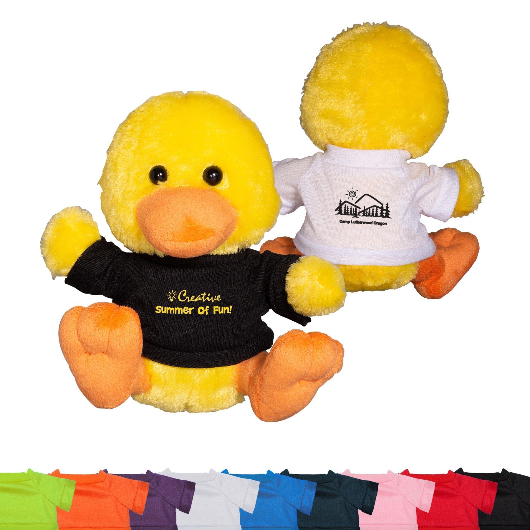 "PRIMELINE 7"" PLUSH DUCK WITH SHIRT"