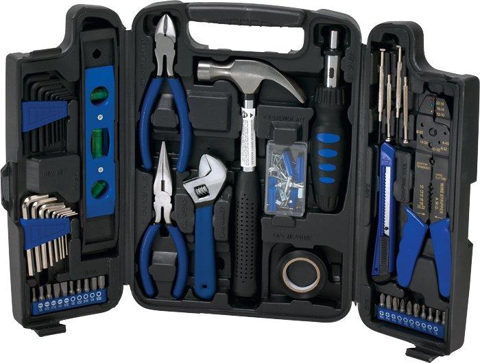 STARLINE 129 PIECE DELUXE HOUSEHOLD TOOL SET