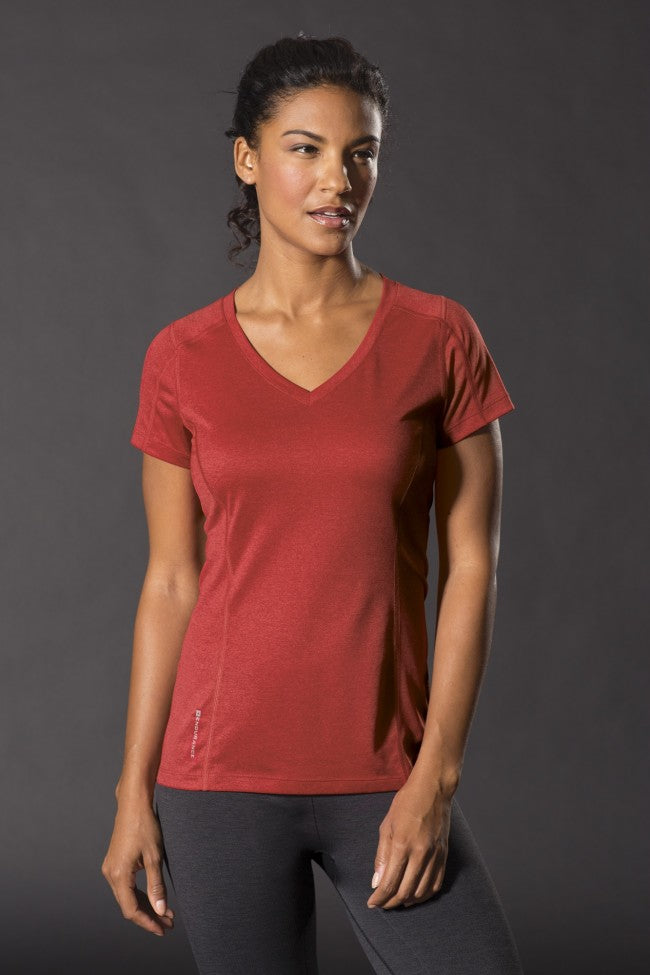 OGIO® LADIES ENDURANCE PULSE V-NECK TEE