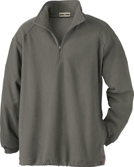 NORTH END MEN'S MICROFLEECE HALF-ZIP JACKET