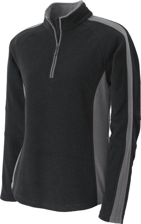 NORTH END LADIES POLYESTER HALF ZIP