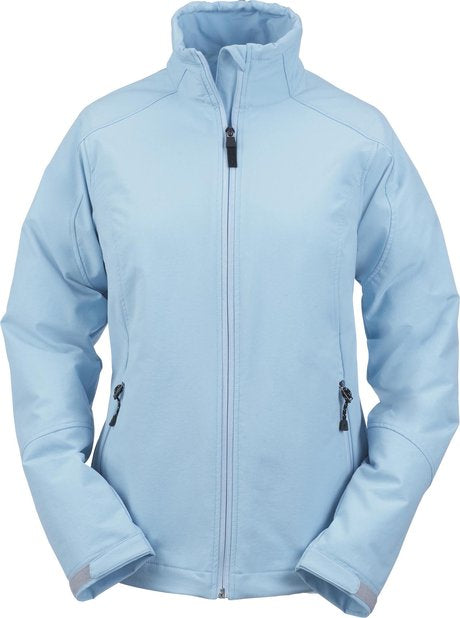 NORTH END LADIES DOUBLE WEAVE STRETCH SOFT SHELL SPORT JACKET