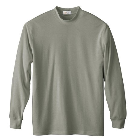 NORTH END MEN'S INTERLOCK MOCK NECK SHIRT