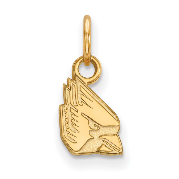 Ball State University Cardinals Gold Charm