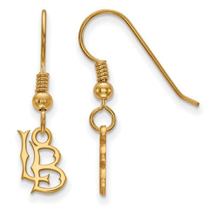 California State University Long Beach Dangle Earrings