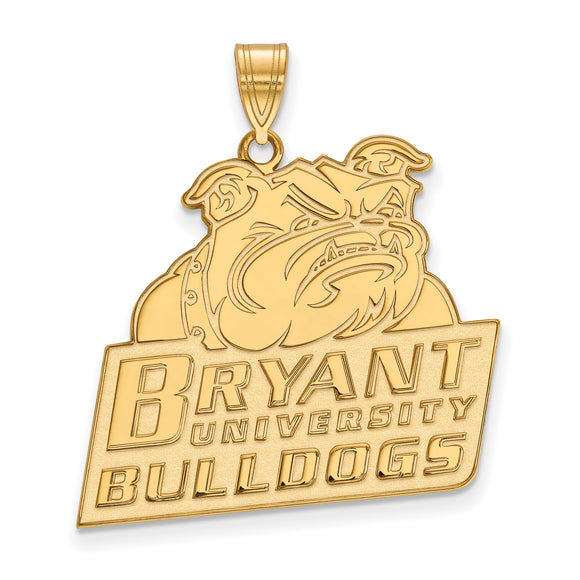 Bryant University Bulldogs Gold Charm