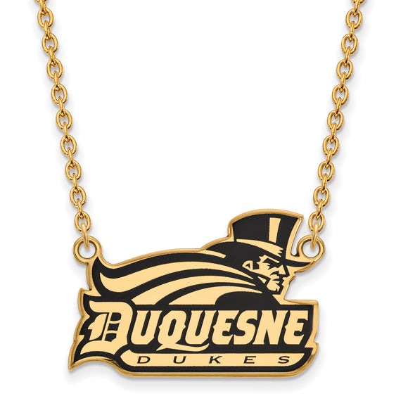 Duquesne Dukes Necklace with Enamel