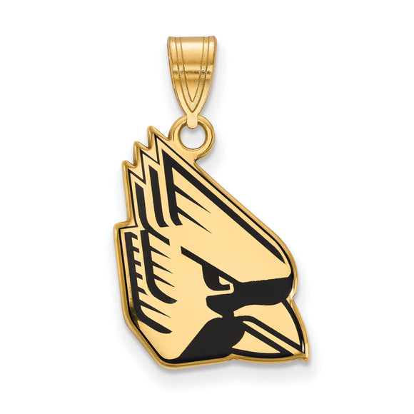 Ball State University Cardinals Pendant with Enamel