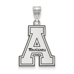 "Appalachian State University ""A - Mountaineers"" Charm with Enamel"