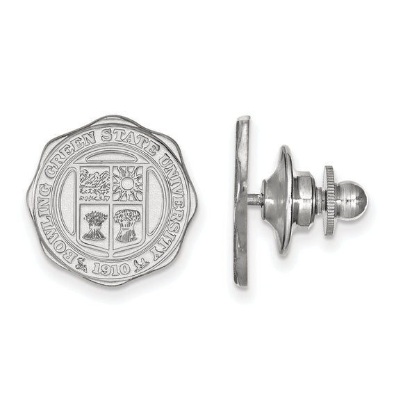 Bowling Green State University Silver Lapel Pin
