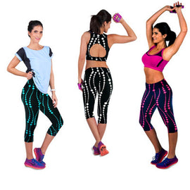 Women High-Waist Printed Leggings Sportswear