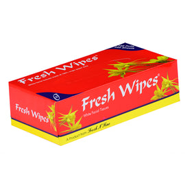 Fresh Wipes - White facial Tissues - Red - SET OF 6pcs
