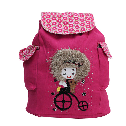 Cartoon Canvas Backpack Shoulder Bags for Girls