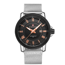 Quartz Watch Men Fashion Sport Steel Wristwatches
