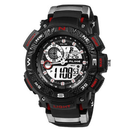 Men LED Electronic Digital Waterproof Sports Watch