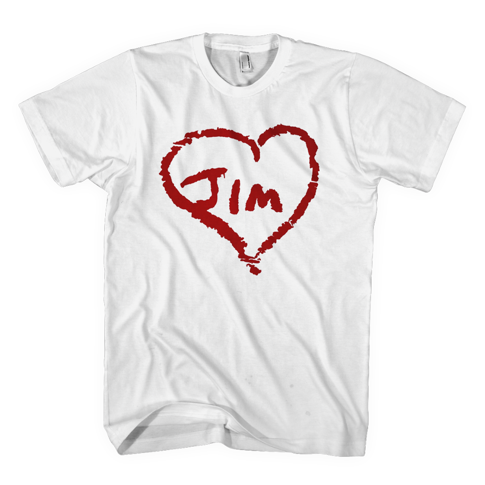 Jim James - Heart Jim T-Shirt