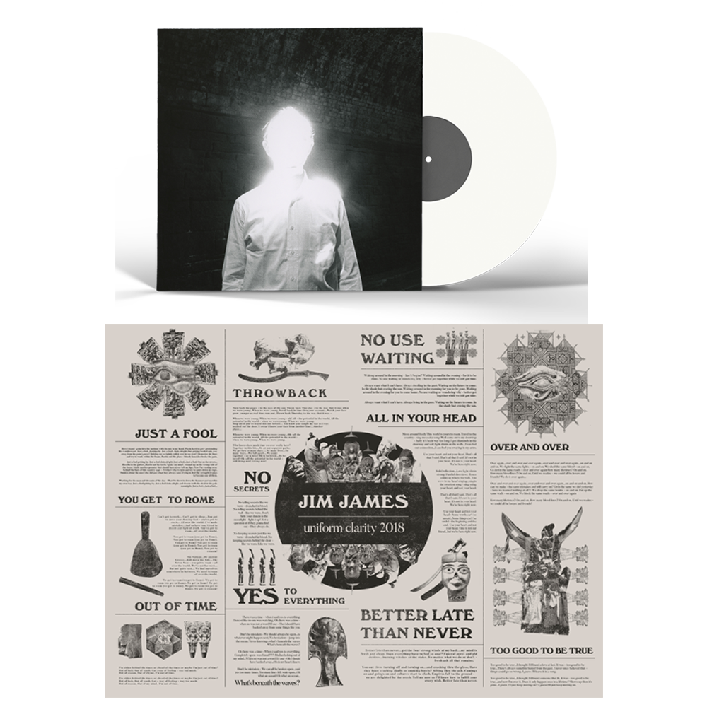Jim James - Uniform Clarity (2018) - Vinyl & Poster Bundle