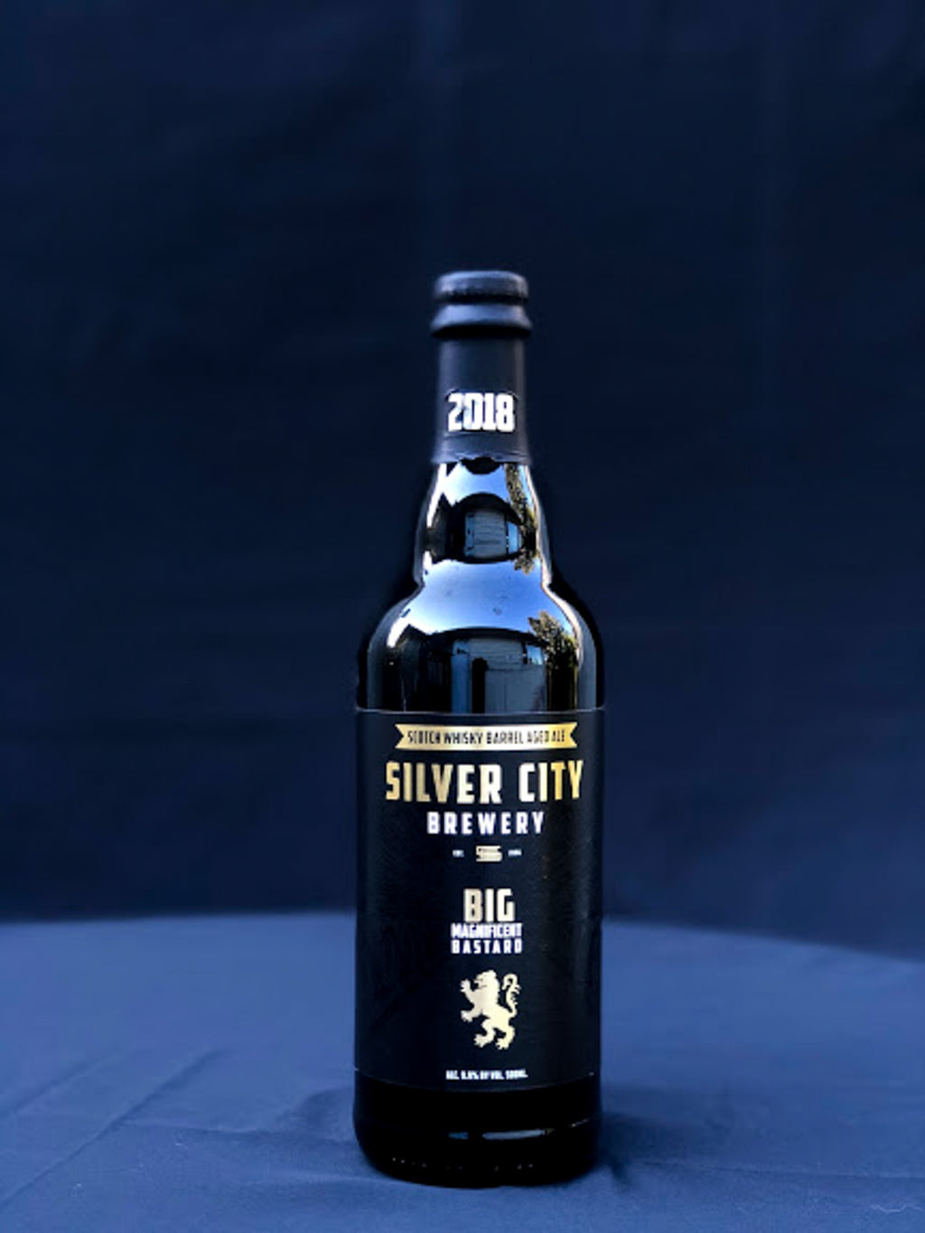 Silver City Scotch Whisky Barrel Aged Big Magnificent Bastard